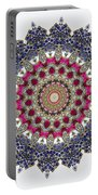 Kaleidoscope Colorful Jeweled Rhinestones Portable Battery Charger