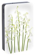 Lily-of-the-valley Flowers  Portable Battery Charger
