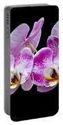 Moon's Orchid  Portable Battery Charger