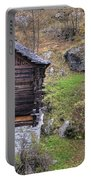 Old Rustic House Portable Battery Charger
