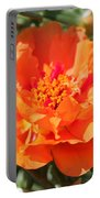 Portulaca Named Sundial Tangerine Portable Battery Charger