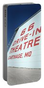 Route 66 Drive-in Theatre Portable Battery Charger
