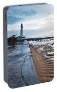Saint Mary's Lighthouse At Whitley Bay Portable Battery Charger