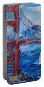 San Francisco Golden Gate Bridge  Portable Battery Charger