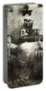 Sleeping Woman, C1900 Portable Battery Charger