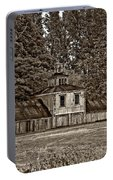5 Star Barn Monochrome Portable Battery Charger