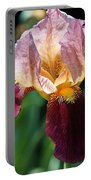 Tall Bearded Iris Named Indian Chief Portable Battery Charger