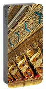 Temple In Grand Palace Bangkok Thailand Portable Battery Charger