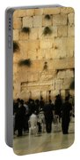 The Wailing Wall Portable Battery Charger