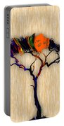 Tree Wall Art Portable Battery Charger