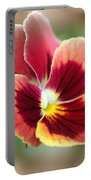 Viola Named Penny Red Blotch Portable Battery Charger