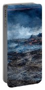 Volcano Eruption At The Holuhraun Portable Battery Charger