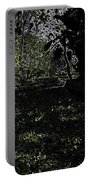 Weeds And Plants In A Coastal Saltwater Creek Portable Battery Charger