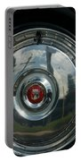 56 Ford Thunderbird Spare Hub Cap Portable Battery Charger