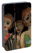 562 - Three Young Girls   Portable Battery Charger