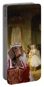 Dachshund Art Canvas Print Portable Battery Charger