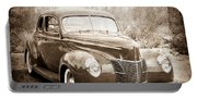 1940 Ford Deluxe Coupe Portable Battery Charger
