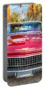 1960 Cadillac Eldorado Biarritz Convertible Painted  Portable Battery Charger