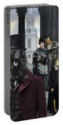 Afghan Hound Art Canvas Print Portable Battery Charger