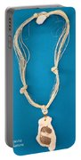 Aphrodite Anadyomene Necklace Portable Battery Charger by Augusta Stylianou