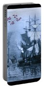 Blame It On The Rum Schooner Portable Battery Charger
