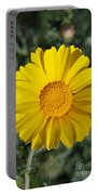 Crown Daisy Flower Portable Battery Charger