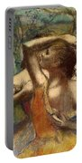 Dancers Portable Battery Charger by Edgar Degas