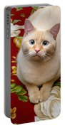 Flame Point Siamese Cat Portable Battery Charger
