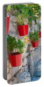 Flower Pots 2 Portable Battery Charger