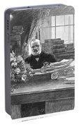 Grover Cleveland (1837-1908) Portable Battery Charger
