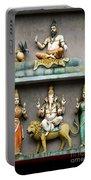 Hindu Temple With Indian Gods Kuala Lumpur Malaysia Portable Battery Charger