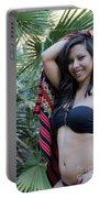 Hispanic Beauty Portable Battery Charger