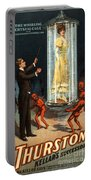 Howard Thurston, American Magician Portable Battery Charger