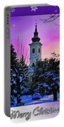 Christmas Card 21 Portable Battery Charger