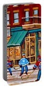 Montreal Paintings Portable Battery Charger