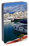 Puerto Banus In Spain Portable Battery Charger
