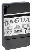 Route 66 - Bagdad Cafe Portable Battery Charger