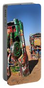 Route 66 - Cadillac Ranch Portable Battery Charger