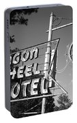 Route 66 - Wagon Wheel Motel Portable Battery Charger