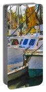 Shrimp Boats Portable Battery Charger