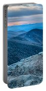 Sunset View Over Blue Ridge Mountains Portable Battery Charger