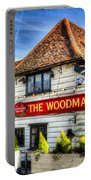 The Woodman Pub Portable Battery Charger