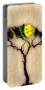 Tree Wall Art. Portable Battery Charger