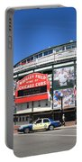 Wrigley Field - Chicago Cubs  Portable Battery Charger by Frank Romeo