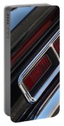 67 Black Camaro Ss Tail Light-8020 Portable Battery Charger