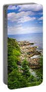 Atlantic Coast In Newfoundland Portable Battery Charger