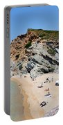 Beach In Legrena Portable Battery Charger