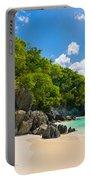 Beautiful Caribbean Beach Portable Battery Charger