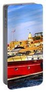 Boats At St.tropez Portable Battery Charger
