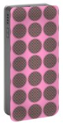 7 By 7 On Pink Portable Battery Charger